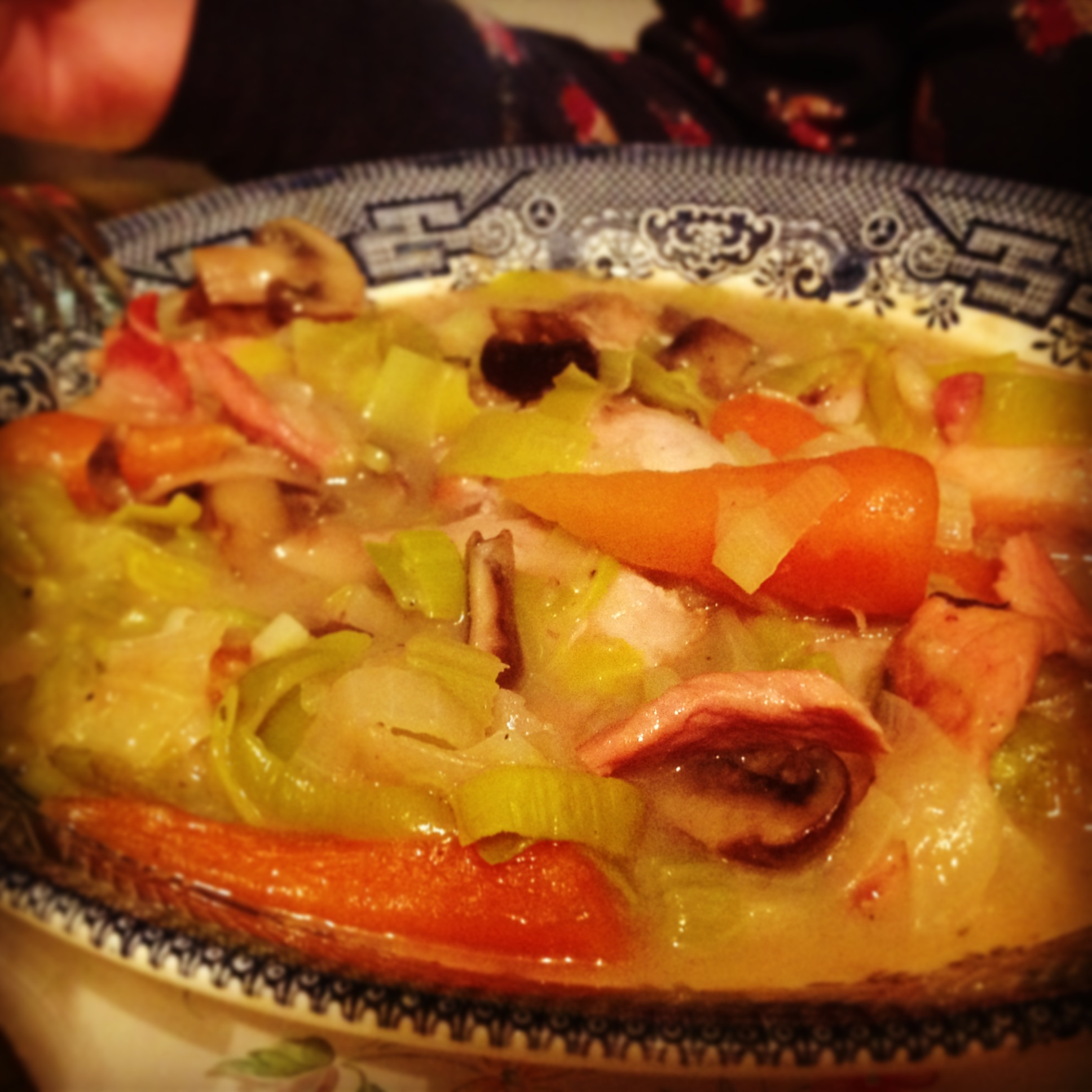 Old Fashioned Chicken And Vegetable Stew Hairy Bikers