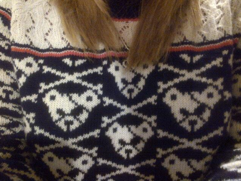 A particular favourite of mine - my new Henry Holland jumper!